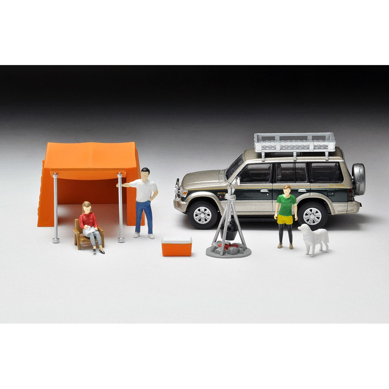 1/64 Tomica Limited Vintage NEO Diorama Collection DioColle 64 #Car Snap 01b Camp