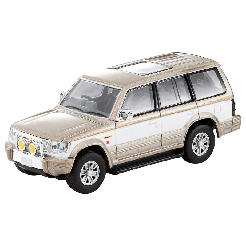 1/64 Tomica Limited Vintage NEO LV-N189c Mitsubishi Pajero Super Exceed (Beige/White)