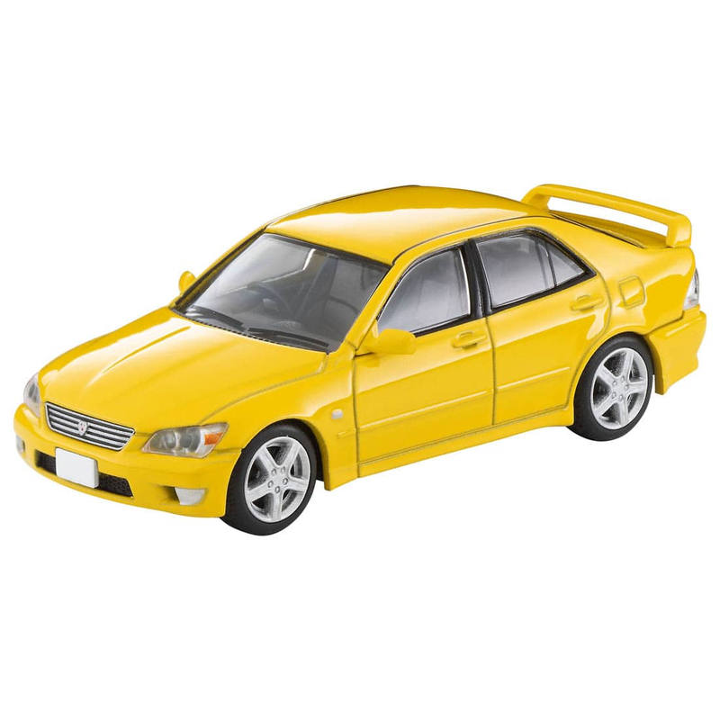 1/64 Tomica Limited Vintage NEO LV-N232b Toyota Altezza RS200 Z Edition (Yellow)