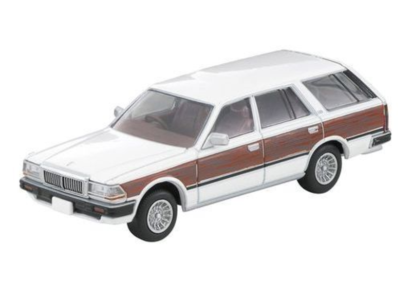 1/64 Tomica Limited Vintage NEO LV-N209c Nissan Cedric Wagon GL (White/Wood Grain)