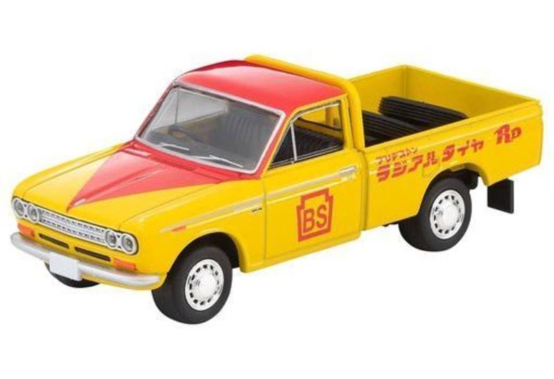 1/64 Tomica Limited Vintage LV-195a Datsun Truck (Bridgestone)