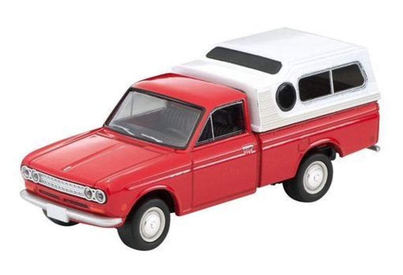 1/64 Tomica Limited Vintage LV-194a Datsun Truck North American Model (Red)
