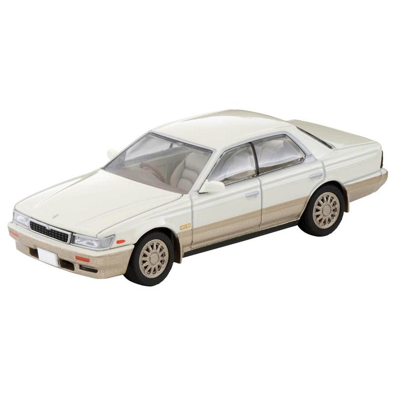 1/64 Tomica Limited Vintage NEO LV-N238b Nissan Laurel Medalist Club L (White/Gold)