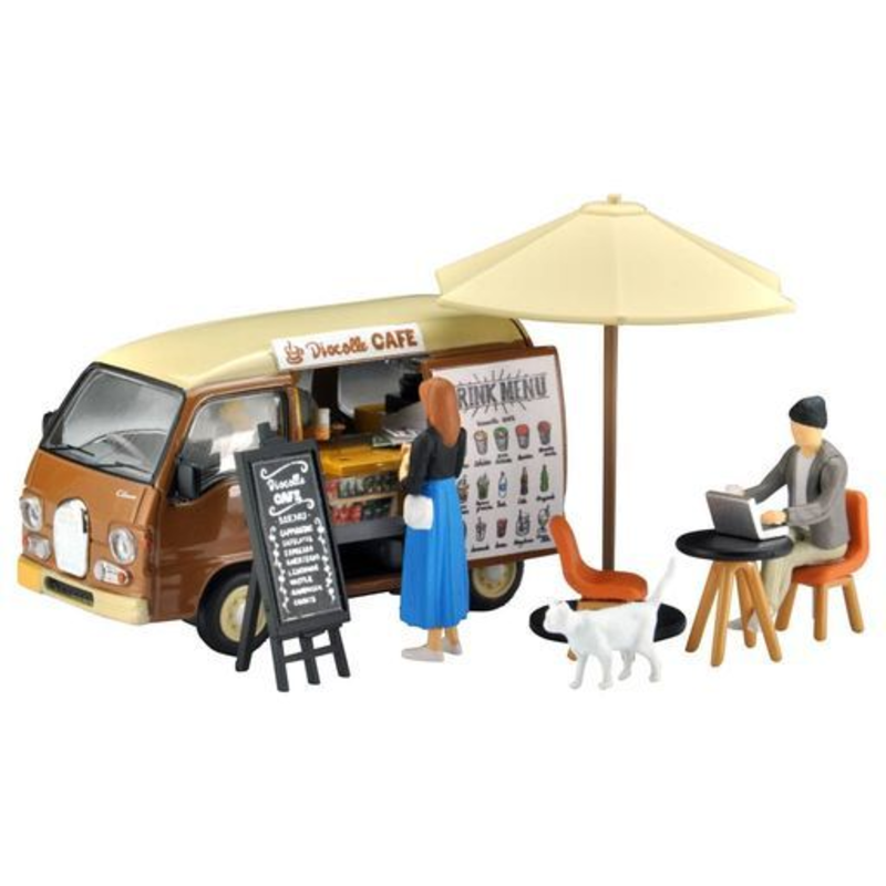 1/64 Tomica Limited Vintage NEO Diorama Collection DioColle 64 #Car Snap 07a Cafe