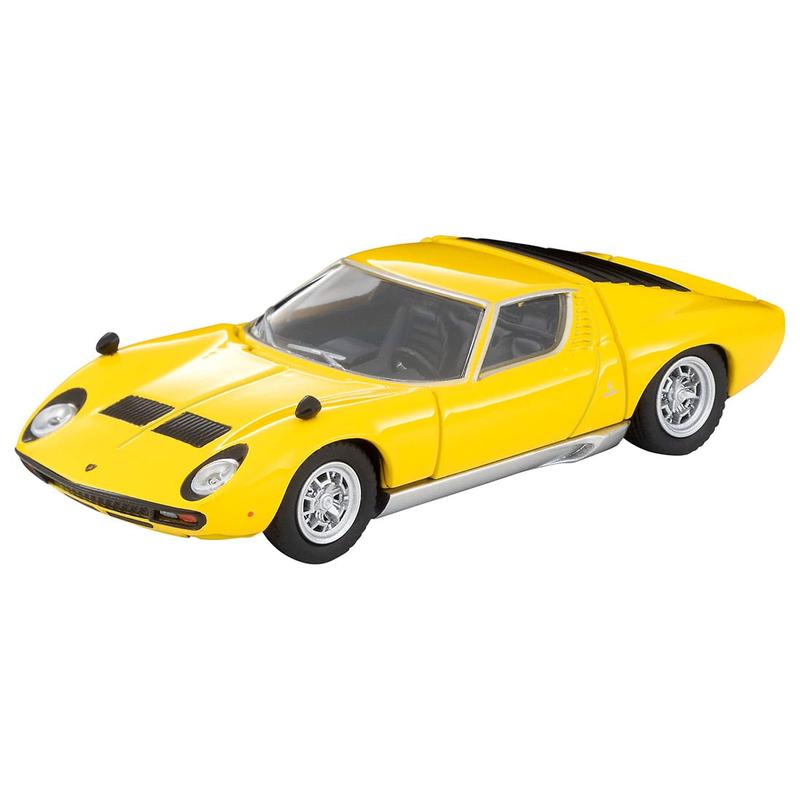 1/64 Tomica Limited Vintage LV Lamborghini Miura SV (Yellow)