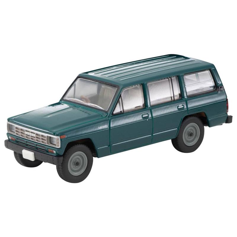1/64 Tomica Limited Vintage Neo LV-N109c Nissan Safari Extra Van DX (Green)