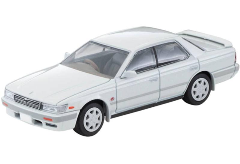 1/64 Tomica Limited Vintage NEO LV-N259a Nissan Laurel 2500 Twin Cam 24V Medalist V (White) '92 Model