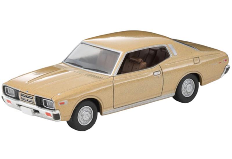 1/64 Tomica Limited Vintage NEO LV-N258a Nissan Gloria 2-door HT 2000SGL-E (Beige) '78 Model