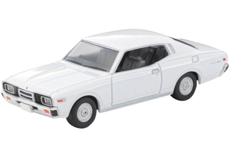 1/64 Tomica Limited Vintage NEO LV-N257a Nissan Cedric 2-door HT 2000SGL-E (White) '78 Model