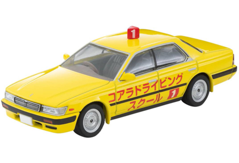 1/64 Tomica Limited Vintage NEO LV-N260a Nissan Laurel Training Vehicle (Yellow) '92 Model