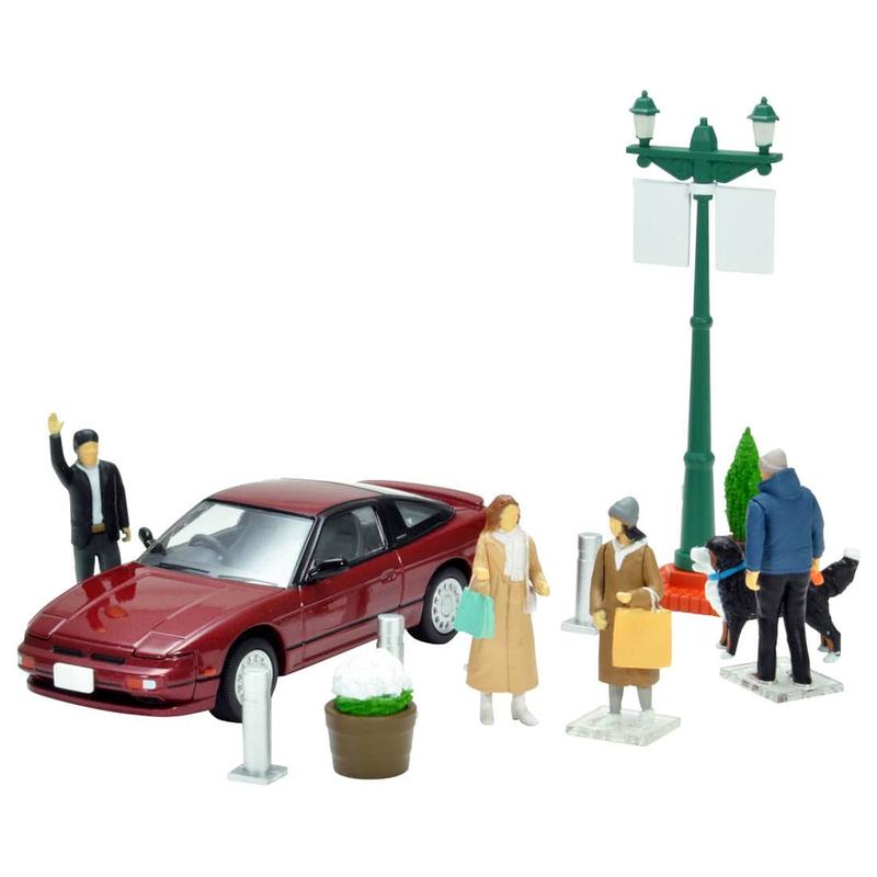 1/64 Diorama Collection Dio Colle 64 #Car Snap 08a City Corner