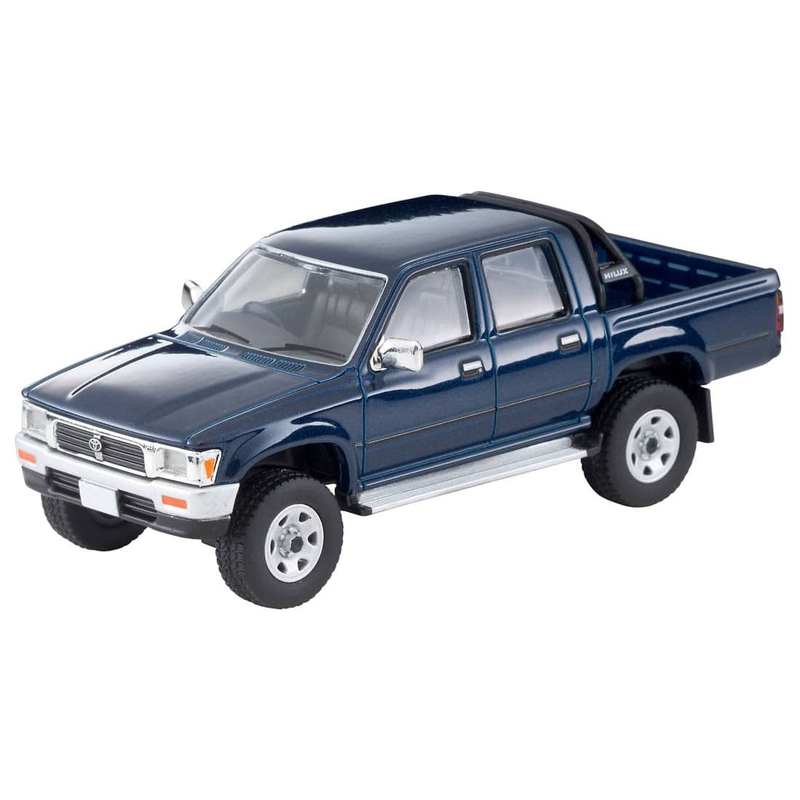 1/64 Tomica Limited Vintage NEO LV-N255a Toyota Hilux 4WD Pick Up Double Cab SSR (Navy) 91s Model