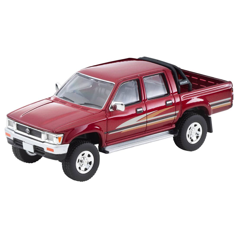 1/64 Tomica Limited Vintage NEO LV-N256a Toyota Hilux 4WD Pick Up Double Cab SSR (Red) 91s Model
