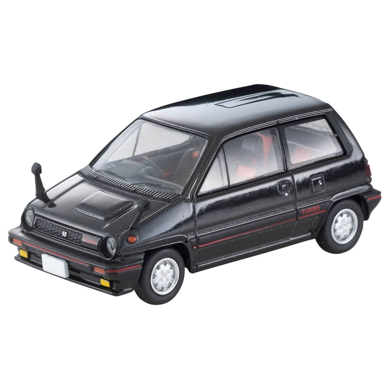 1/64 Tomica Limited Vintage NEO LV-N261a Honda City Turbo (Black) 82s Model
