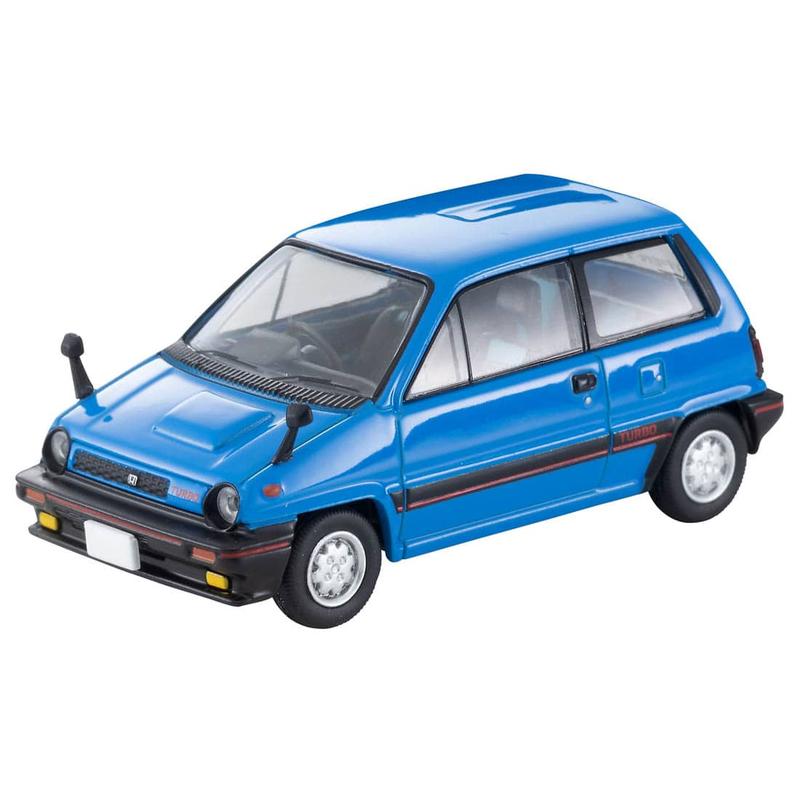 1/64 Tomica Limited Vintage NEO LV-N261b Honda City Turbo (Blue) 82s Model