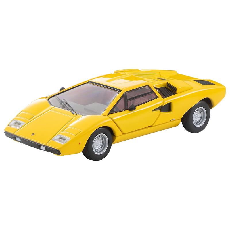 1/64 Tomica Limited Vintage LV Lamborghini Countach LP400 (Yellow)