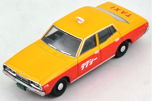 1/64 Tomica Limited Vintage NEO LV-N123a Cedric Taxi (Yellow/Orange)